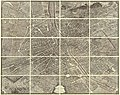 1739 Bretez - Turgot View and Map of Paris, France (c. 1900 Taride issue) - Geographicus - Paris-turgot-1900.jpg