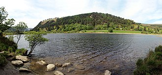 Glendalough - Lower Lake at Glendalough