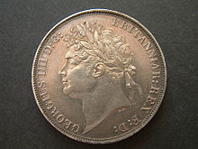 1821 George IV Crown (obverse) File Pic.JPG
