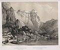 1842, España artística y monumental, vistas y descripción de los sitios y monumentos más notables de españa, vol. 1, El mirador de Toledo vistas desde el puente de San Martín.jpg
