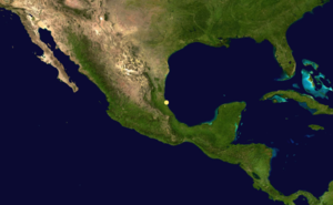 1859 Atlantic hurricane season - Image: 1859 Atlantic hurricane 1 track