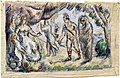 1875, Cézanne, Aeneas Meeting Dido at Carthage.jpg