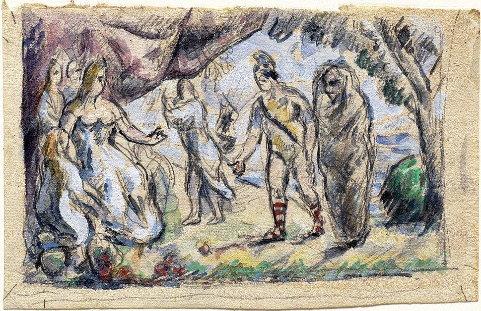 1875, Cézanne, Aeneas Meeting Dido at Carthage