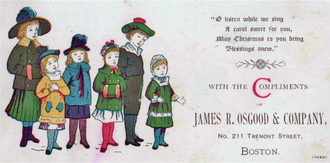 A Christmas carol card, Boston, 1880 1880 Christmas Osgood.png