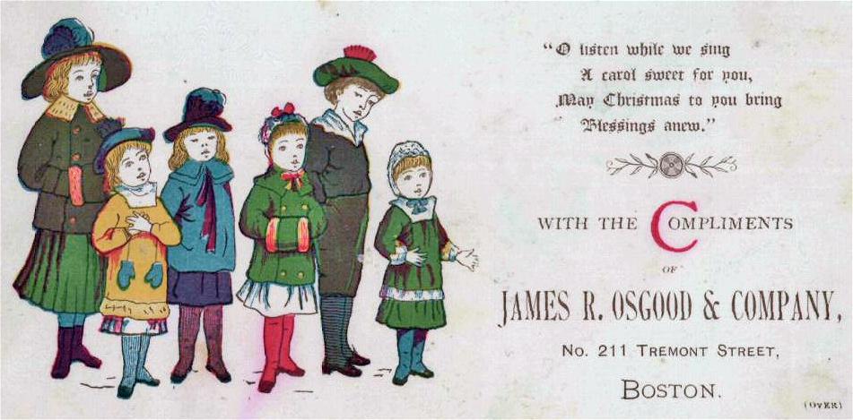 1880 Christmas Osgood