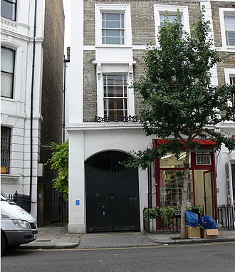 Notting Hill Gate - The Powis Terrace loft where the cast of The Real World: London resided.