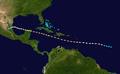 1903 Atlantic hurricane 2 track.png