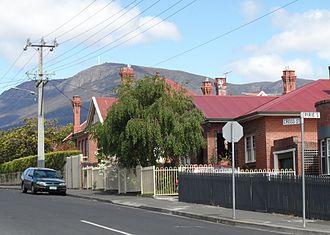 New Town, Tasmania - Image: 1906 Moncrieff 38 Cross Street