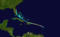 1916 Atlantic hurricane 7 track.png