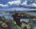 1916 Gloucester Harbor painting by John Sloan Syracuse University.png