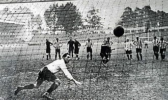 Belgium national football team - In the 1920 Olympic football final at the Olympisch Stadion in Antwerp, Robert Coppée scored for Belgium with a penalty kick.