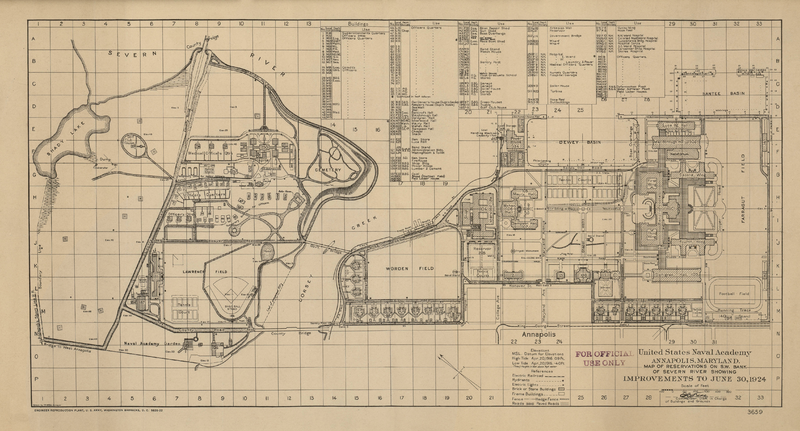 1924 Map of US Naval Academy.png