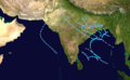 1928 North Indian Ocean cyclone season summary map.png