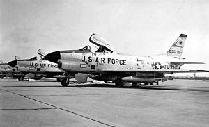 194th Fighter Squadron - 194th FIS F-86L Sabre Interceptor 53-0739, 1960