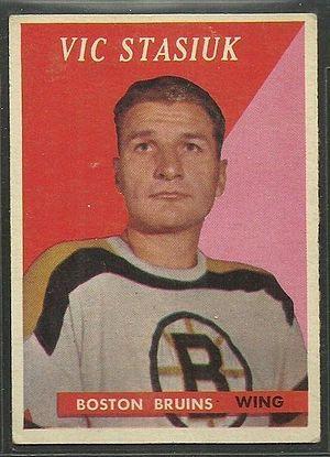 Vic Stasiuk - Image: 1958 Topps Vic Stasiuk