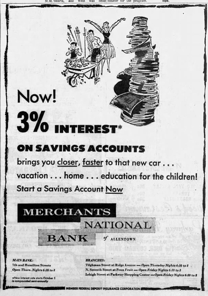 File:1959 - Merchants National Bank - 24 Seo MC - Allentown PA.jpg - Wikimedia Commons