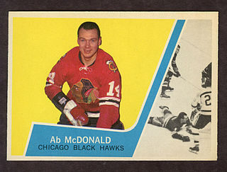 Ab McDonald Canadian ice hockey player