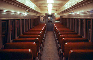 PRR MP54 - Image: 19670630 44 PRR MP54 Interior (11974785143)