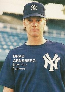 Brad Arnsberg American baseball player