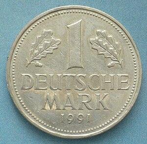 1 deutsche mark 1991 цена самый популярный металлоискатель в россии