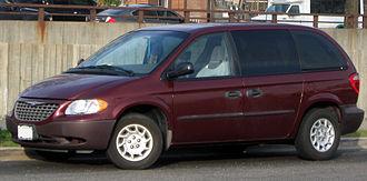 Chrysler Voyager - 2001–2003 Chrysler Voyager (US)