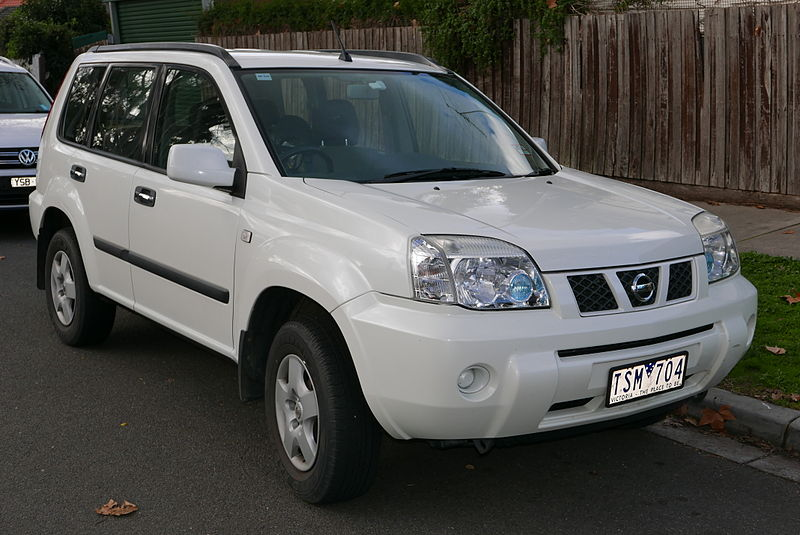 file 2005 nissan x trail t30 ii st wagon 2015 06 25 wikimedia commons. Black Bedroom Furniture Sets. Home Design Ideas