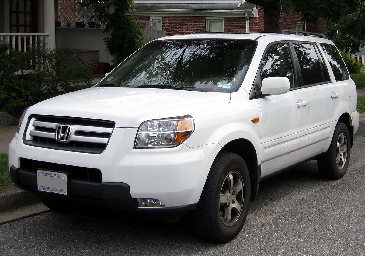 Honda pilot wikipedia for Honda pilot images