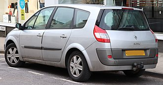 Pre facelift Renault Grand Scenic 2006 Renault Scenic D-QUE DCi 130 E4 1.9 Rear.jpg