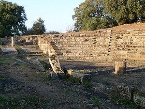 Tusculum - The theatre of Tusculum