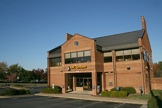 RBC Bank - An RBC Centura branch in Durham, North Carolina (2008).