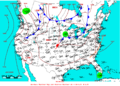 2009-06-25 Surface Weather Map NOAA.png