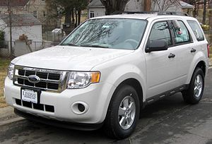 2009 Ford Escape photographed in Wheaton, Mary...