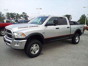 Locking differential - Image: 2011 Dodge Power Wagon