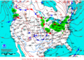 2012-01-14 Surface Weather Map NOAA.png