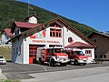 2012-08-20 (1) Fire station of the Feuerwache Weißenburg with vehicles.jpg