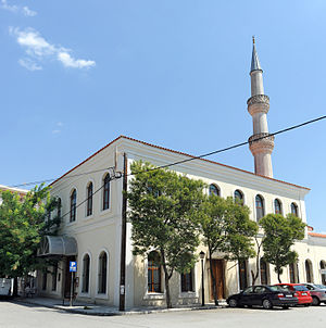 Eski Mosque in Komotini 20120718 Eski Mosque Komotini Thrace Greece Panoramic.jpg