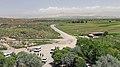 2014 Prowincja Ararat, Krajobraz widziany z klasztoru Chor Wirap (01).jpg