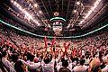 2014 Toronto Raptors fans Air Canada Centre.jpg