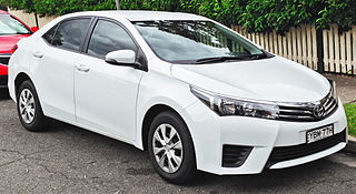 Toyota Corolla (E170) Motor vehicle