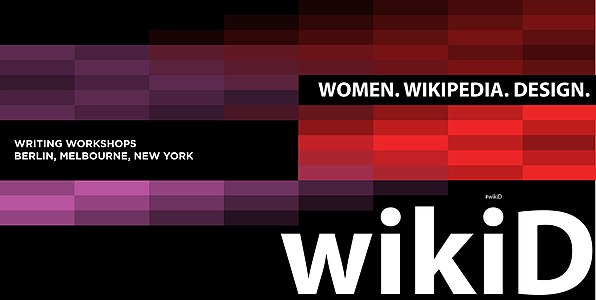 Women Wikipedia Design Poster