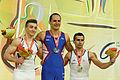2015 European Artistic Gymnastics Championships - Horizontal Bar - Medalists 13.jpg