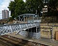 2015 London-Woolwich, Woolwich Dockyard railway station 15.JPG