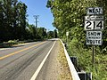 2016-09-13 11 48 04 View west along Maryland State Route 214 (Central Avenue) just west of the Patuxent River in Queen Anne, Prince Georges County, Maryland.jpg