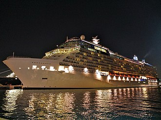 Celebrity Silhouette - Image: 2016 02 FRD Caribbean Cruise Celebrity Silhouette Old San Juan S0376372