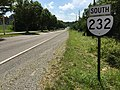 2017-06-13 11 01 44 View south along Virginia State Route 232 (Main Street) between Highland Avenue and Midkiff Lane in Radford, Virginia.jpg