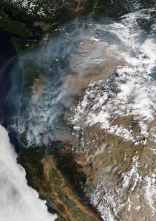2017 Oregon wildfires
