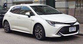 Protection bars for Toyota Auris 2 e180 2012-Hatchback Hatchback 5-Door