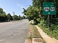 2019-08-07 11 42 42 View south along U.S. Route 29 and west along Virginia State Route 237 (Lee Highway) just northeast of Blake Lane on the edge of Oakton and Merrifield in Fairfax County, Virginia.jpg