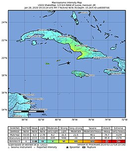 2020 Caribbean Earthquake Wikipedia