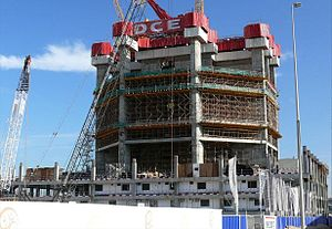 23 Marina - Image: 23 Marina Under Construction on 18 January 2008